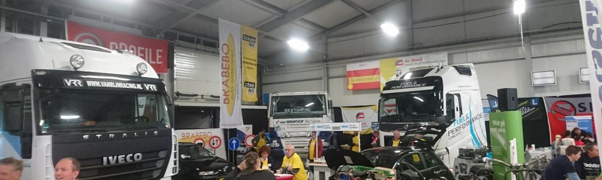Van Rijn Racing Iveco vrachtwagen op T3D