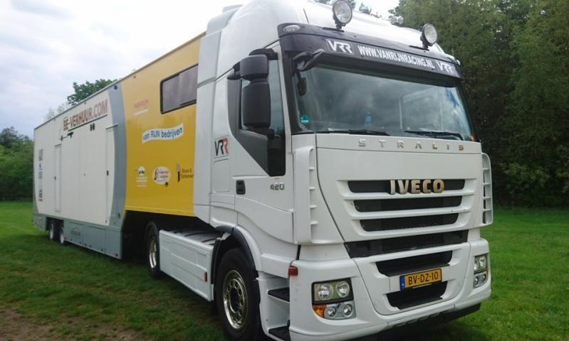 Van Rijn Racing Service truck Iveco Stralis