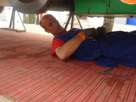mechanic Van Rijn Racing