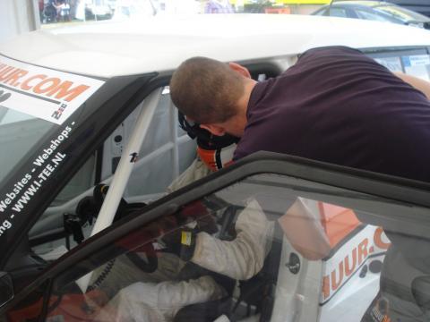 voor de start Van Rijn Racing