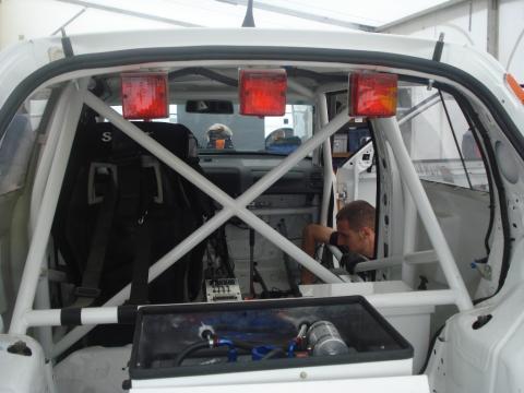 inside rallycar