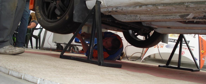 servicetent Van Rijn Racing